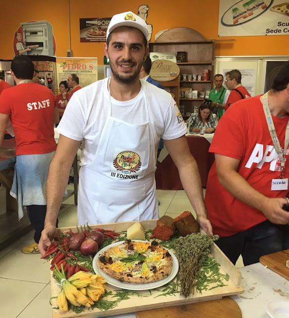 La Crema di Liquirizia di Romano e il Formaggio Caprino di Forciniti conquistano la Pizza d'Eccellenza
