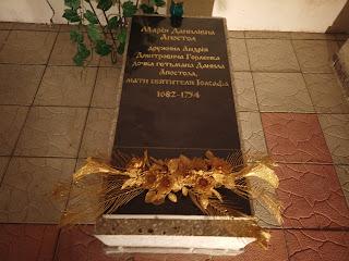 Густиня. Свято-Троїцька церква. Родинна усипальниця Горленків