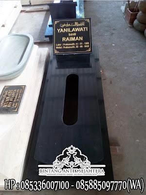 Kijing Makam Granit Minimalis, Model Makam Muslim Sederhana