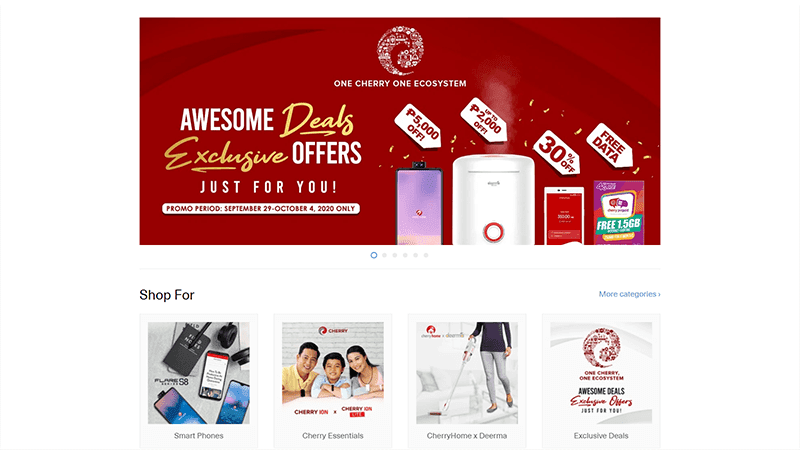 CHERRY opens its own online store with attractive Exclusive Deals