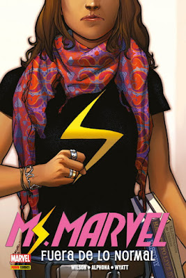 "Comic: Review de Marvel Omnibus ""Ms Marvel: Fuera de lo normal"" Vol 1 de Mark Waid y Humberto Ramos - Panini Comics"