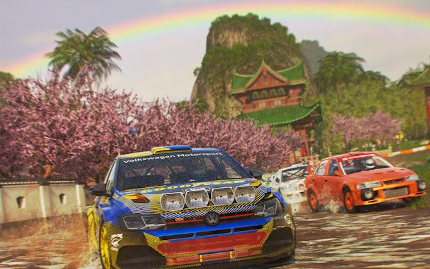 DiRT 5 racing video game