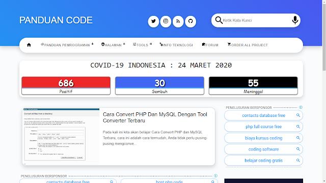 Cara Menggunakan API Covid-19 Dari Kawalcorona Terbaru