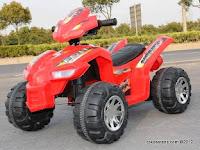 Motor Mainan Aki Pliko PK6900 Vortec ATV