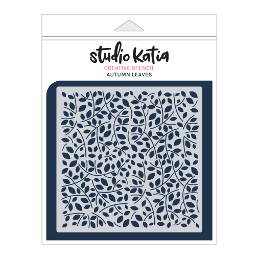 Studio Katia stencil - AUTUMN LEAVES