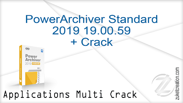 PowerArchiver Standard 2019 19.00.59 + Crack