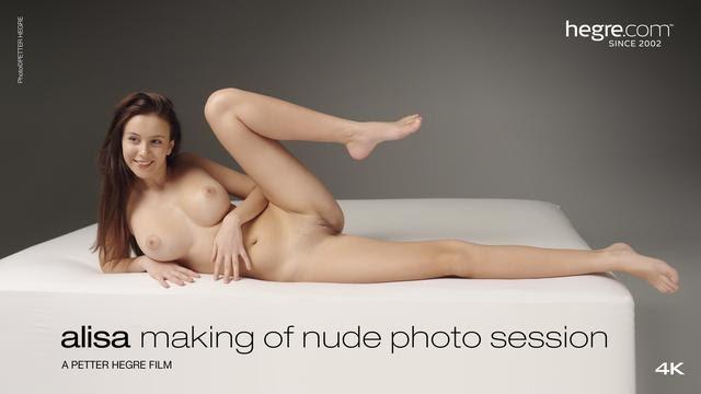 [Hegre-Art] Alisa - Making Of Nude Photo Session