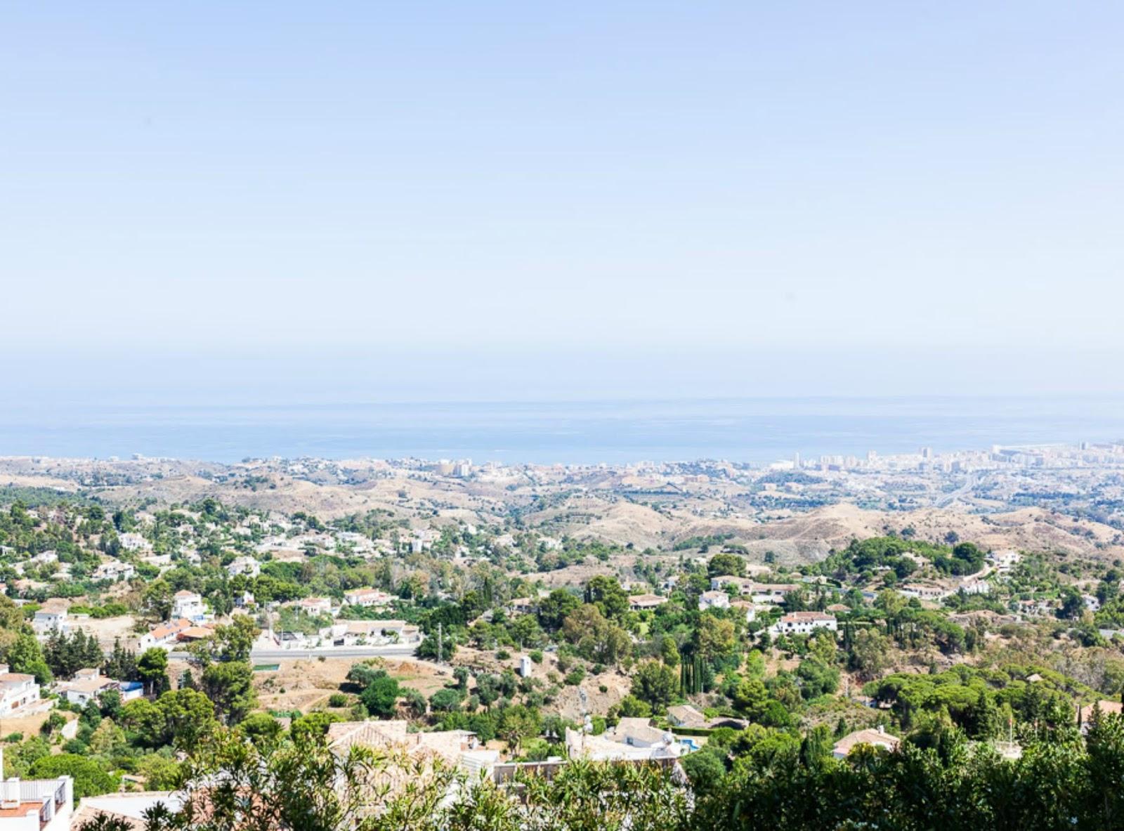 View from Mijas Pueblo