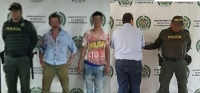 Por agredirse físicamente y traficar con cocaína, tres nuevos capturados en Girardot
