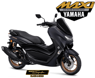 all new nmax connected hitam