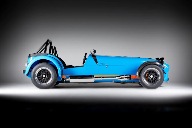 Caterham 7 1970s British classic sports car