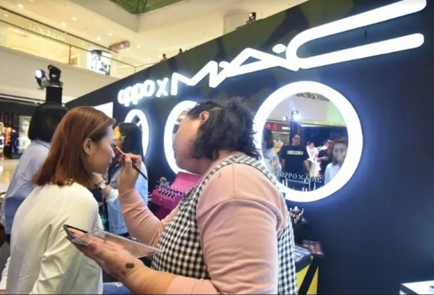 Creative Artistry in Makeup with the OPPO Reno Sunset Rose x M·A·C workshop