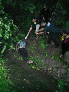 Penemuan Mayat Gegerkan Warga Binong