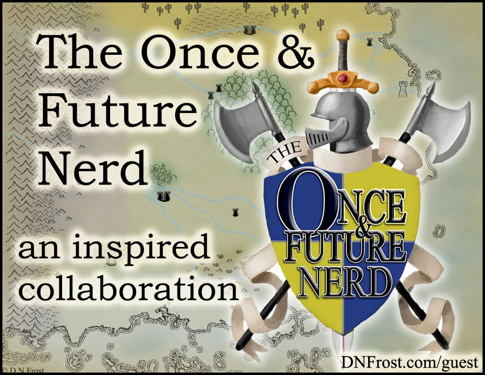 The Once and Future Nerd: a shiny new map for the podcast http://www.dnfrost.com/2016/07/the-once-and-future-nerd-resource.html An inspired collaboration by D.N.Frost @DNFrost13 Part 2 of a series.