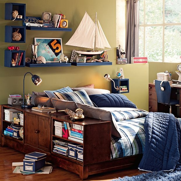 12 teen boy rooms for inspiration   nooshloves on Teenager:_L_Breseofm= Bedroom Ideas  id=27859