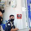 Personil Polsek Galsel Polres Takalar Lakukan Pengamanan Obvit di Kantor BRI Unit Galesong