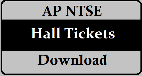 AP NTSE Hall Tickets 2021  Download from bse.ap.gov.in