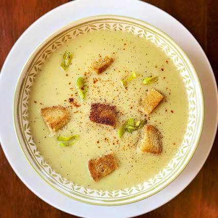 #Creamy #Leek and #Potato #Soup