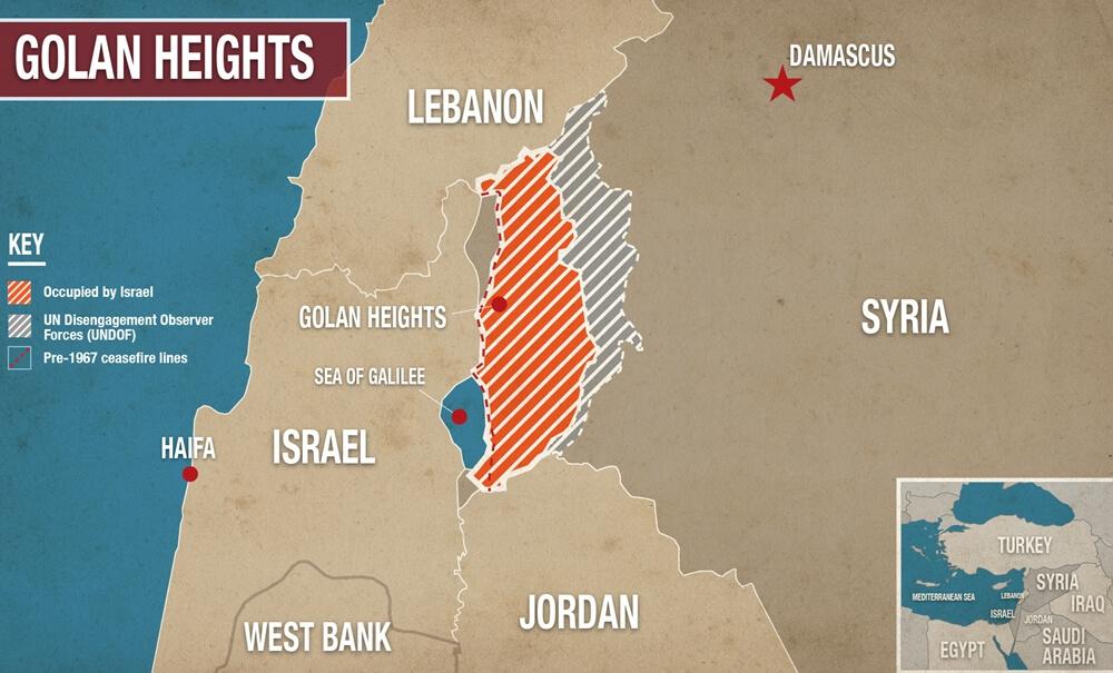 Bukit Golan bukan milik Israel