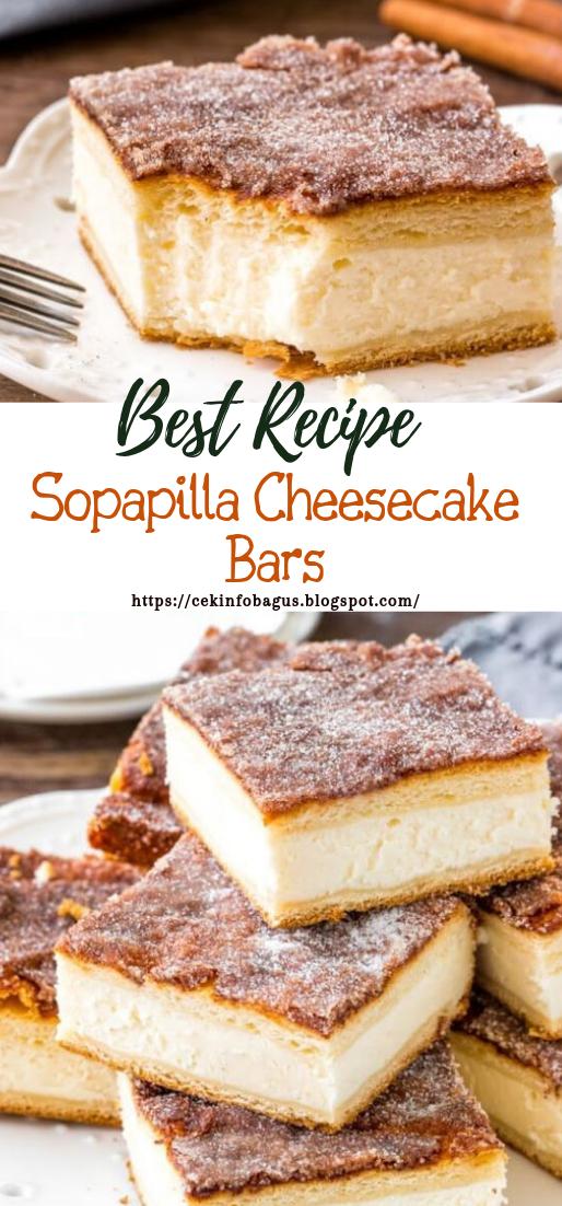 Sopapilla Cheesecake Bars #desserts #cakerecipe #chocolate #brownies