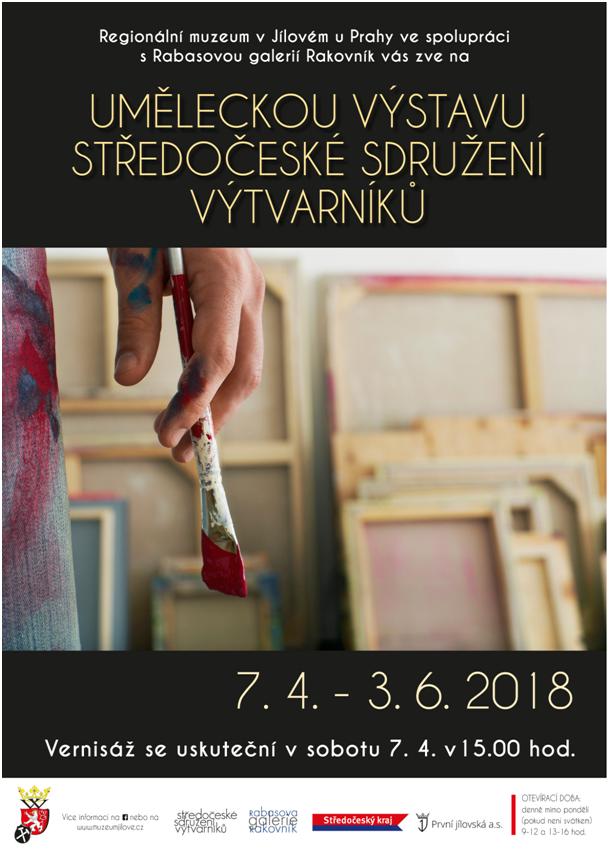Umělecká výstava Středočeského sdružení výtvarníků