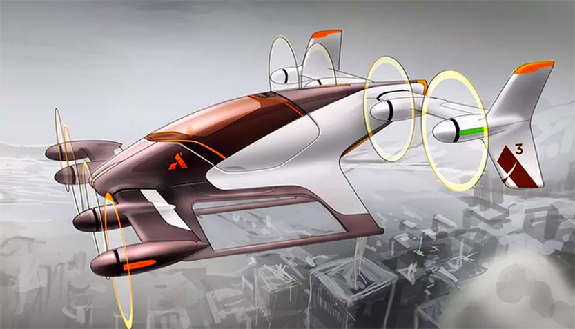 Airbus At Work on a Self Driving Airborne Taxi