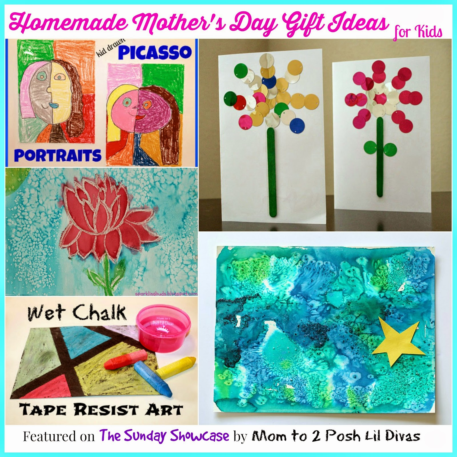 Homemade Gift Ideas That Kids: Click Any Of The Links Below For The Full Post And How-to's