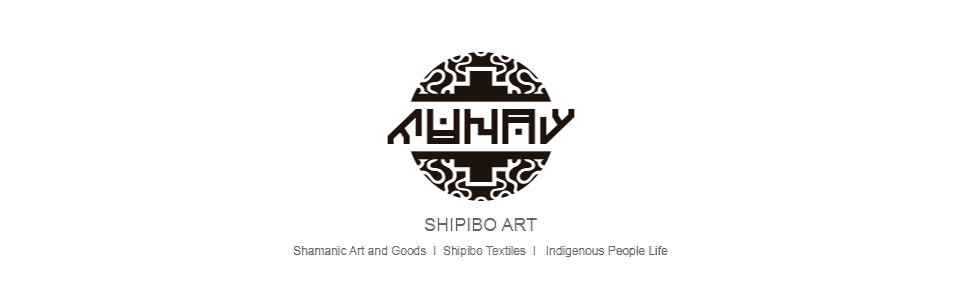 Shipibo textiles, indigenous art from Peruvian rainforest.