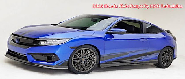 2016 Honda Civic Coupe By MAD Industries