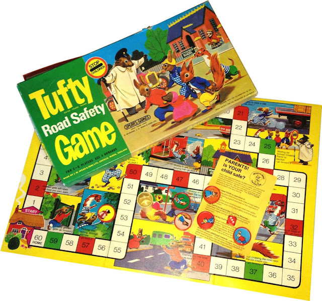Tufty Road Safety Boardgame (1970s)