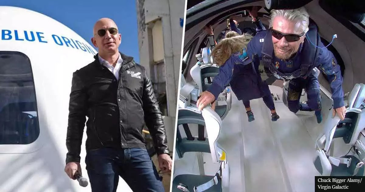 Federal Aviation Administration Says Jeff Bezos and Richard Branson Do Not Qualify As Astronauts