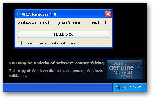 remove wga windows 8 1 pro