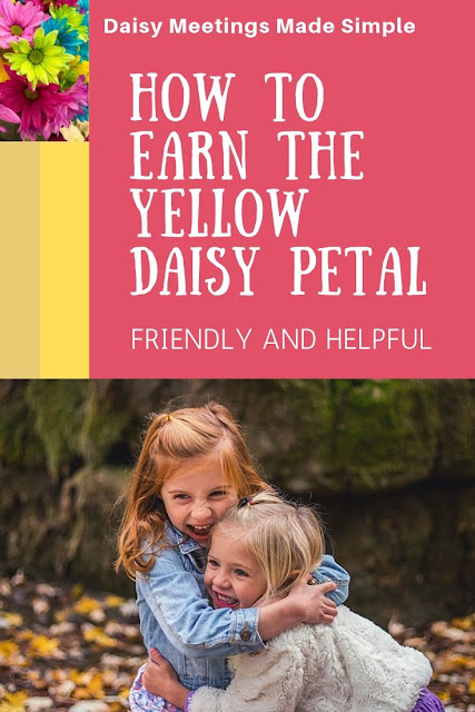 How to Earn the Yellow Daisy Petal Friendly and Helpful