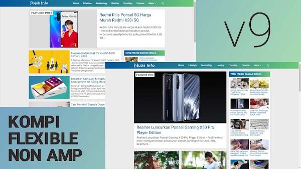 Update Template Premium Kompi Flexible Non AMP v9