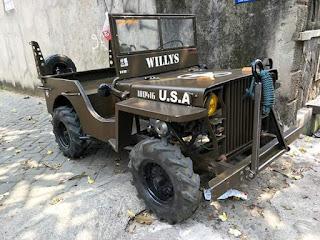 Dijual Jeep willys imut  Full plat mesin 100cc