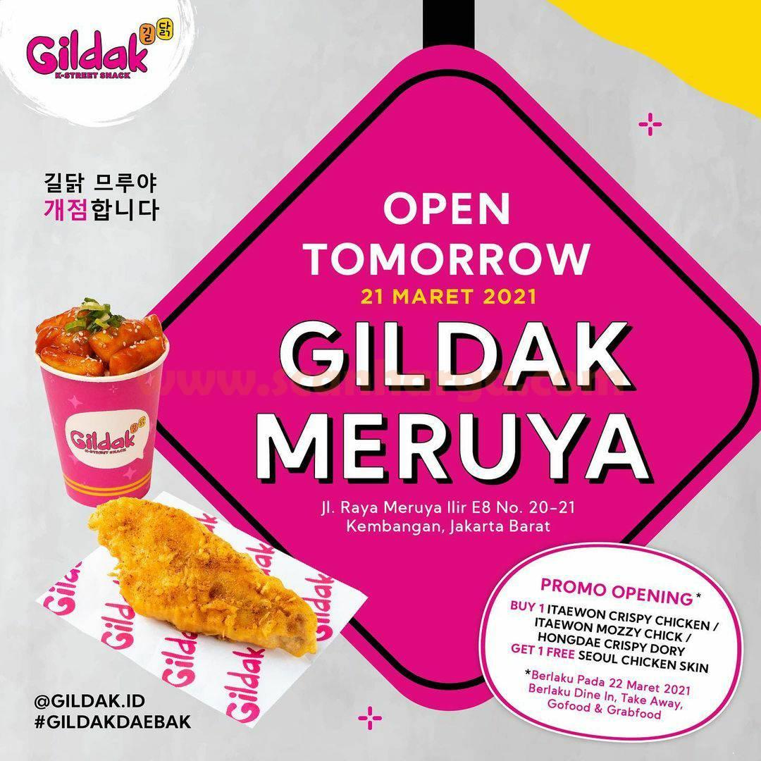 Gildak MERUYA Grand Opening Promo Beli 1 Gratis 1