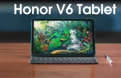 Honor V6 Tablet World's First 5G Supporting tablet.