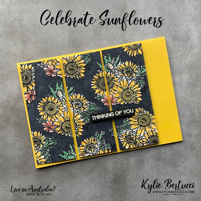 Kylie's Demonstrator Training Support Program Blog Hop August 2020   Celebrate Sunflowers Stamp Set