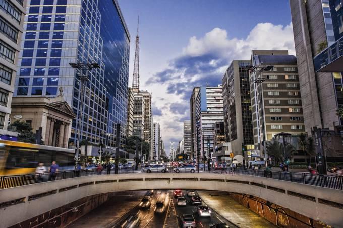 trânsito av. paulista são paulo