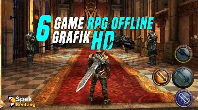 6 Game RPG Offline Terbaik di Android 2020 Grafik HD