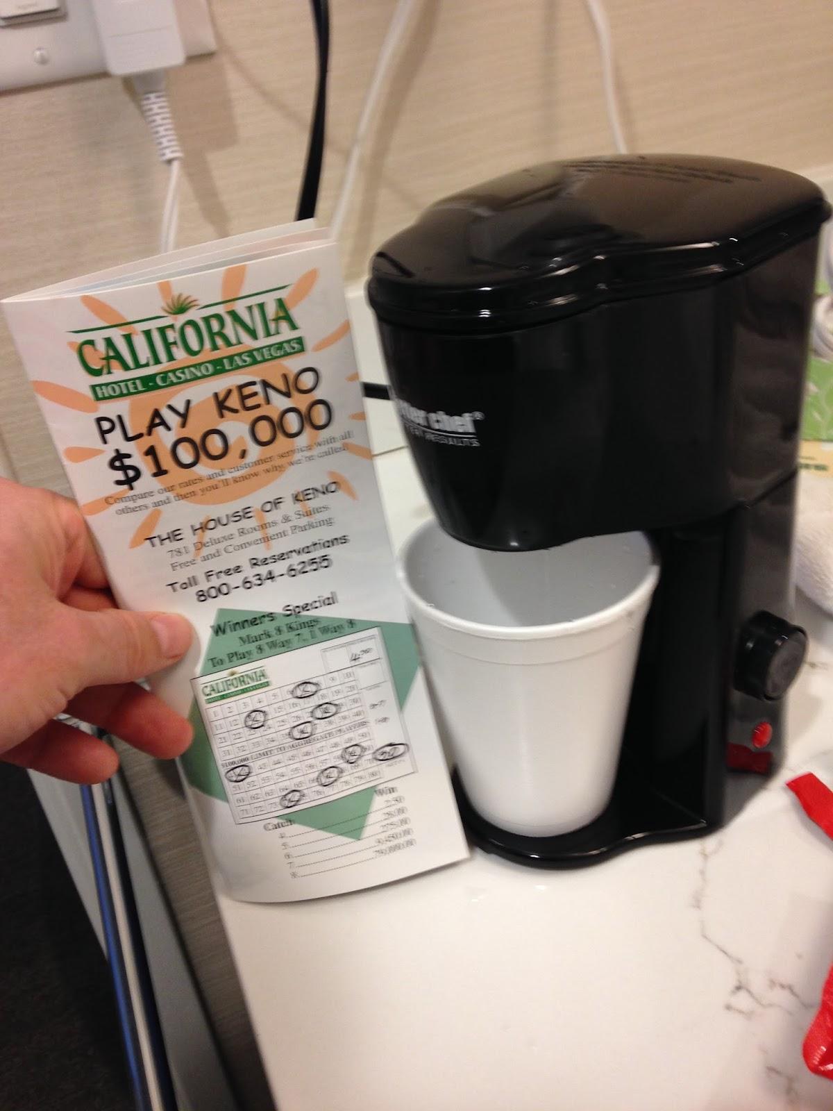 Royal Flusher Vegas The Little Giant Coffee Machine