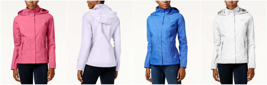 The North Face Resolve 2 Waterproof Rain Jacket $45 (reg $90)