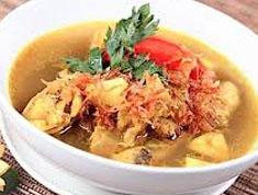 Resep masakan indonesia soto tangkar spesial (istimewa) khas betawi praktis mudah sedap, gurih, enak, nikmat lezat
