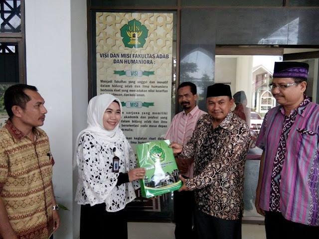BPNB Aceh Jajaki Kerjasama dengan FAH UIN Ar-Raniry