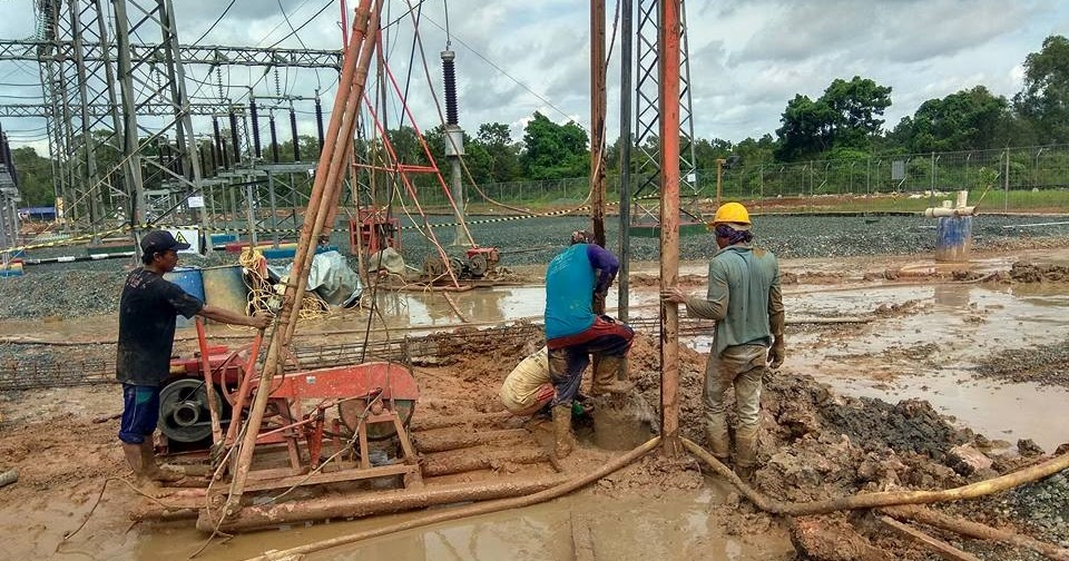 Jasa Bor Pel Strouss Pile Jasa Pengeboran Sumur 0813 1124 4499 Water Well Drilling