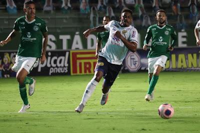 Com gols de ex-Vila Nova, Aparecidense elimina Goiás em plena Serrinha e se classifica para as semifinais do Goianão e Brasileiro Série D