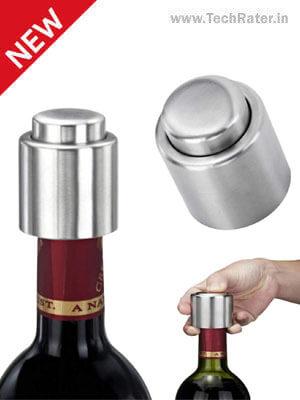 Vacuum Cap For Bottle Airtight Seal Lock