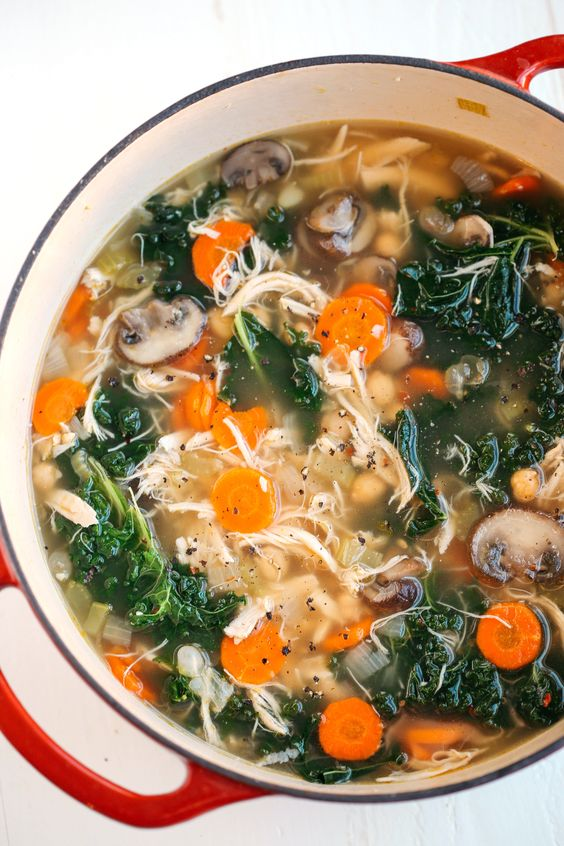 DETOX IMMUNE-BOOSTING CHICKEN SOUP #detoxsoup #detoximmune #chickensoup #chickenrecipes #detoxsoup #soup #souprecipes #healthysoup #healthyfood