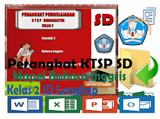Perangkat KTSP SD Kelas 2 Mapel Bahasa Inggris Format Words