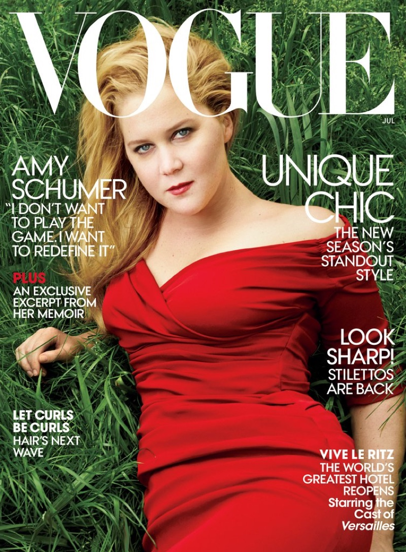 Amy Schumer lands Vogue July 2016 cover story